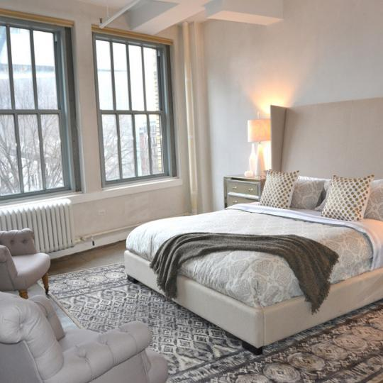 The Carl Fischer Building at 62 Cooper Square - Bedroom