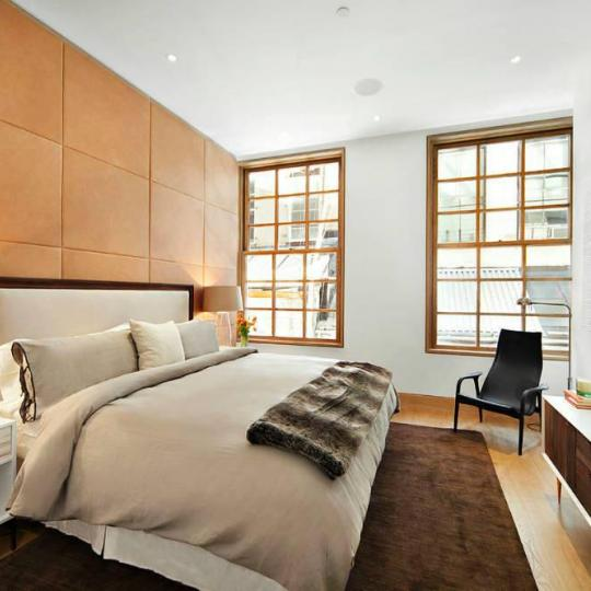Bedroom- 70 Greene Street- condominium for sale in Soho