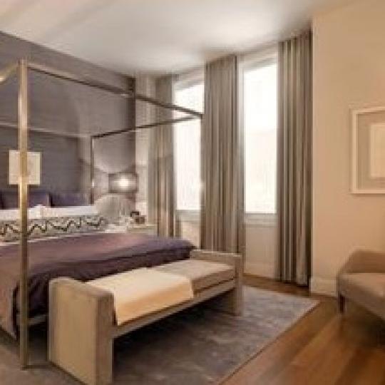 Bedroom - 101 Leonard Street - Tribeca