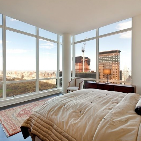 Bedroom - 230 West 56th Street - Luxury Apartments for Sale