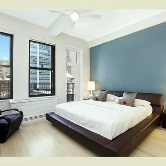 Bedroom - Parkwood Building- Condominiums - Midtown East