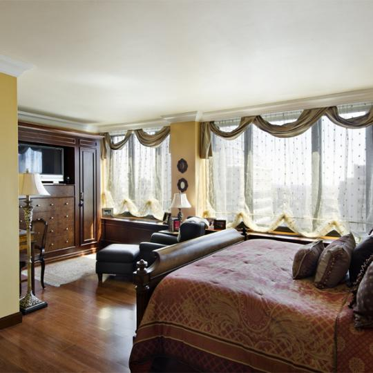 Bedroom - The Galleria - Manhattan NYC - Luxury Condos