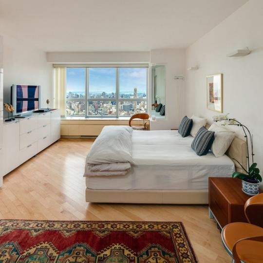 Bedroom with View - Apartments for Sale - 146W57