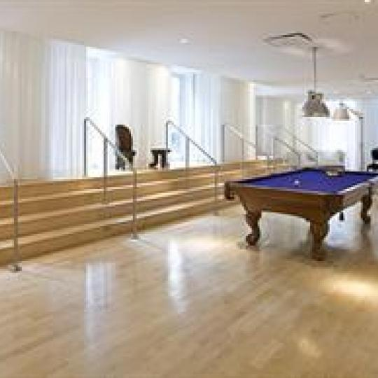 Billiards Room - 15 Broad Street - NYC Condos