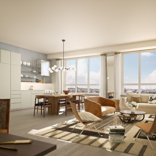 Living Room at Boerum - Apartments for sale