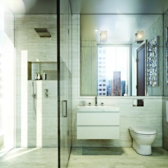 Bathroom - The Baccarat Hotel and Residences - Midtown West