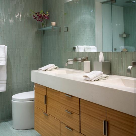 Master Bathroom -  401 East 60th Street - Manhattan - NYC Condo