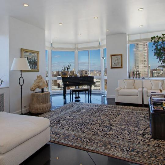 Bristol Plaza - NYC condos for sale - living room with view