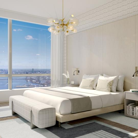 Bedroom at Brooklyn Point in NYC - Apartments for sale