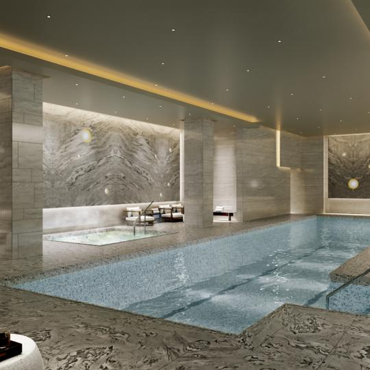 Condos for sale at 138 Willoughby Street in Downtown Brooklyn - Pool