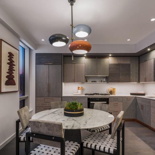 Kitchen at Brooklyn Point in NYC - Apartments for sale