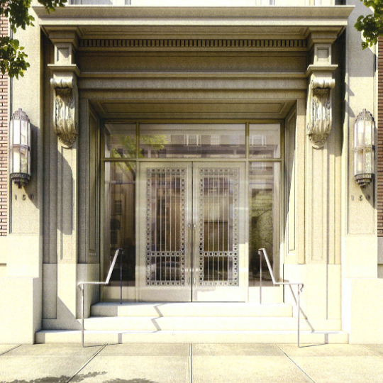 Building Entrance at 150 East 72nd Street - Luxury Apartment for Sale