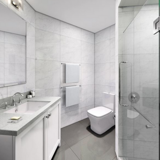 Updated Bathrooms - 330 East 38th Street Condominiums - Condos - NYC