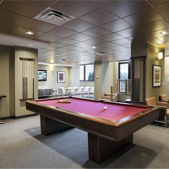 Remodeled Lounge - 330 East 38th Street Condominiums - Condos - NYC