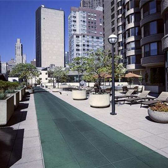 Running Track - 330 East 38th Street Condominiums - Condos - NYC