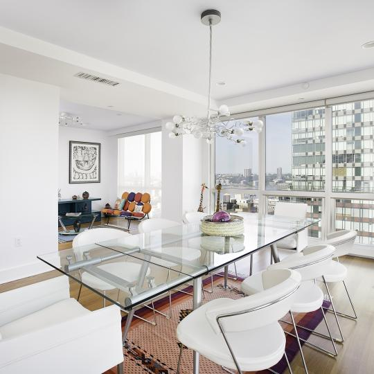 Ariel East Condominiums – Dining Area