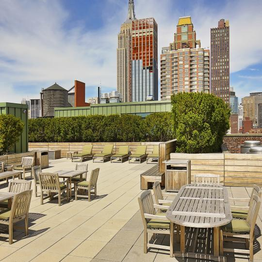 15 Madison Square North Roof Deck - 15 East 26th Street Condos for Sale
