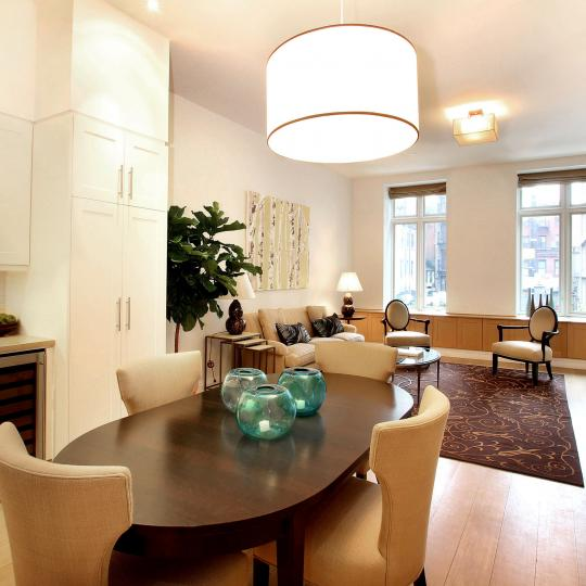 Carriage House Dining Area - 159 West 24th Street Condos for Sale