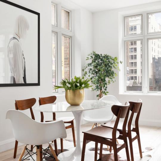 159 West 24th Street Dining Area – Manhattan New Condos