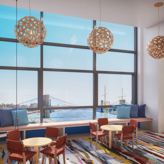 Children's playroom - NYC condos - 1 Seaport