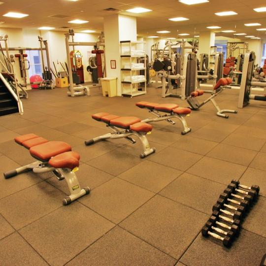 Cipriani Club Residences Classic gym - Condos for Sale NYC