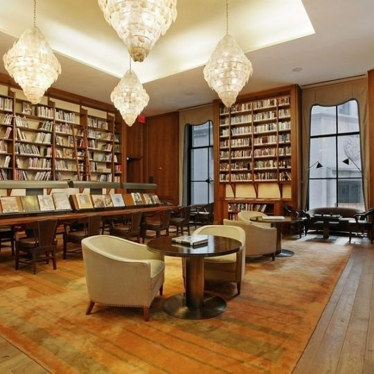 Cipriani Club Residences Classic library - Condos for Sale NYC