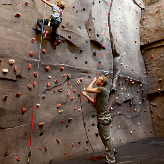 Apartments for sale at 50 Riverside Boulevard in NYC - Climbing Wall