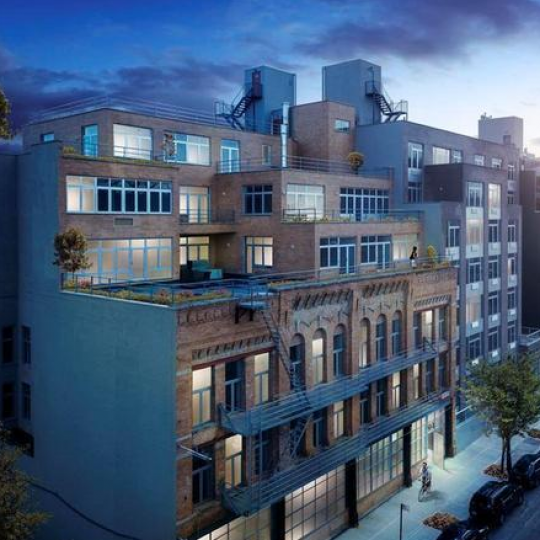 Exterior of the Clinton Lofts Building - Condominium For sale