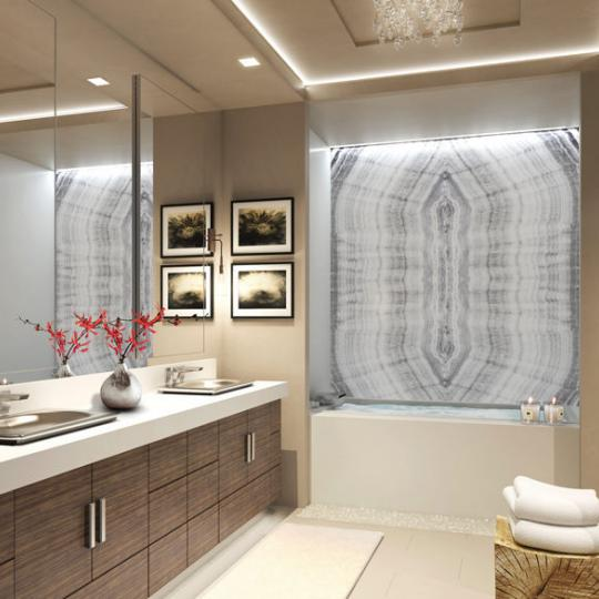 Delos Living- Bathroom- Condominium for sale in Greenwich Village