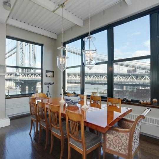 Dining Room-The Clocktower- 1 Main Street- condo for sale in Brooklyn