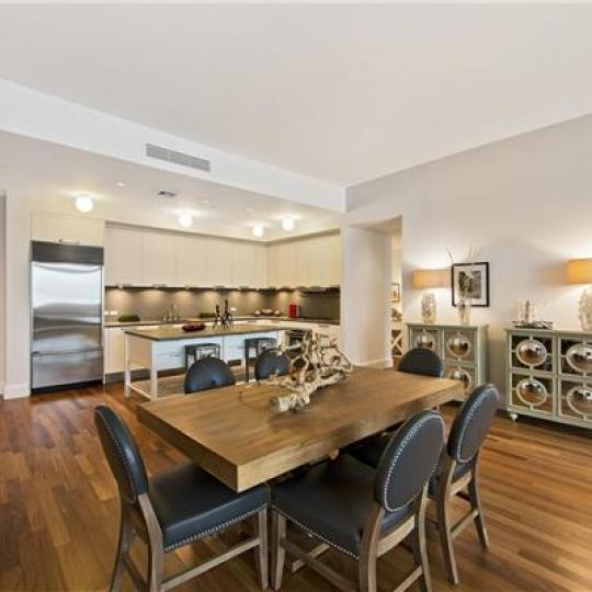 Dining Room- 92 Laight Street- Manhattan condo for sale