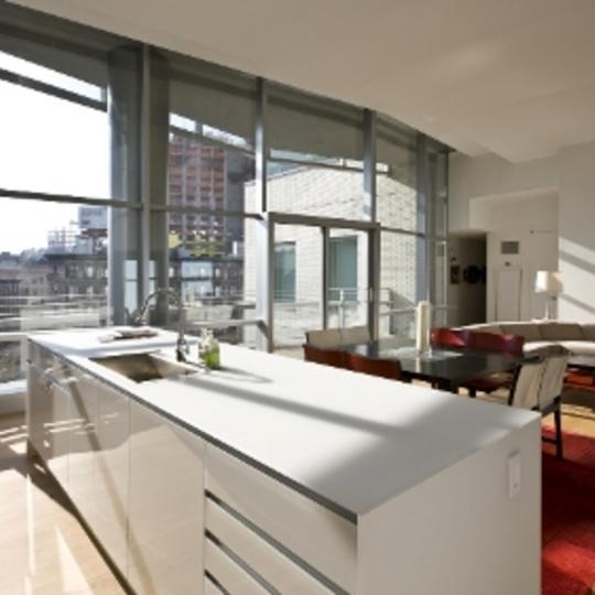 1 York Street New Construction Condominium Dining Area