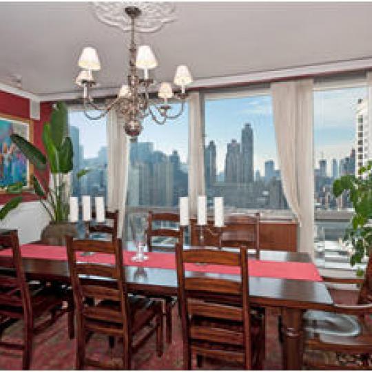 Dining Room - The Grand Millennium - NYC Condominiums