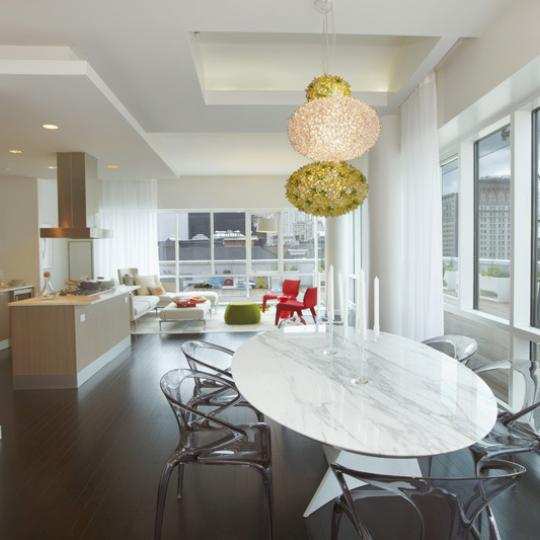 8 Union Square South Condos for Sale - Dining room