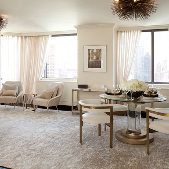 SIXTYFOUR at 300 E 64th Street Dining Room Luxury Apartments for Sale