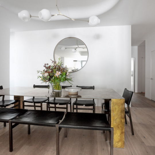 Open Dining Room at XOCO 325 - Apartments for sale