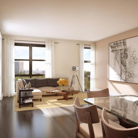 Park Union Dining Room - Brooklyn Condos for Sale
