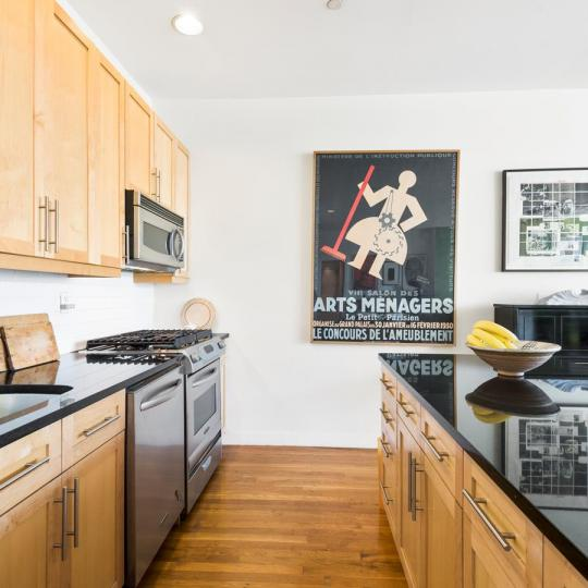 Kitchen at 258 Saint Nicholas Avenue in NYC - Apartments for sale