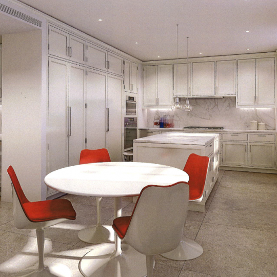 Eat-in Kitchen - 150 East 72nd Street Apartments for Sale