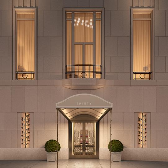 Four Seasons Hotel- Entrance