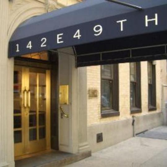 142 East 49th Street Entrance - Turtle Bay NYC Condominiums