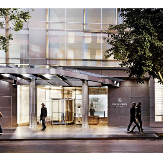 The Renwick- 15 Renwick Sreet - Entrance - Manhattan condo for sale