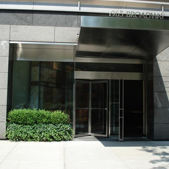 Entrance to the Grand Millennium - Manhattan Condominiums