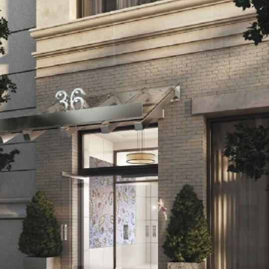 The Story House Entrance - Flatiron District NYC Condominiums