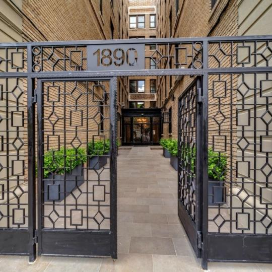 Entrance- The Strathmore- 1890 Adam Clayton Powell Boulevard- condo for sale