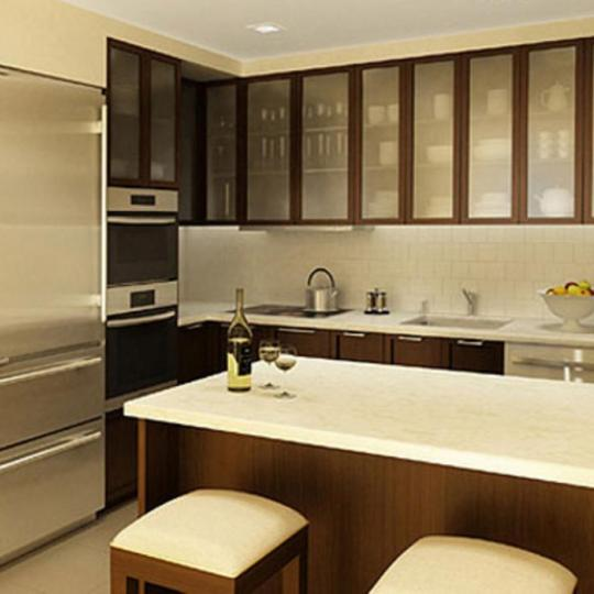 160 Central Park South Kitchen - NYC Condos for Sale