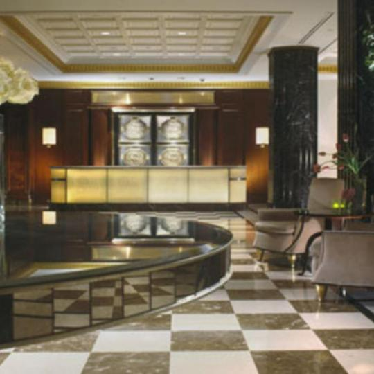 The Jumeirah Essex House Lobby - Manhattan Condos for Sale