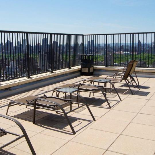 Rooftop Deck at Evans Tower in Upper East Side - Condos for sale