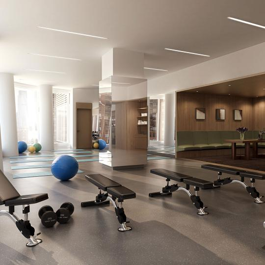Fitness Center- 50 West Street