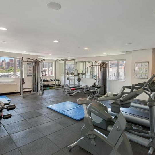 Fitness Center inside the building at 1810 Third Avenue